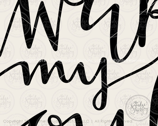 Awake My Soul SVG & Printable