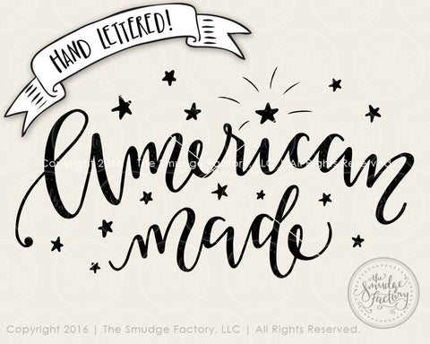 American Made SVG & Printable
