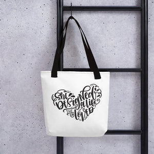 She Designed A Life She Loved Tote Bag