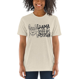 Llama Just be Myself Tee