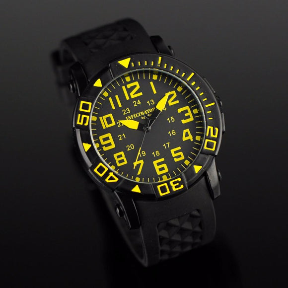 Montre homme sport militaire aviation quartz