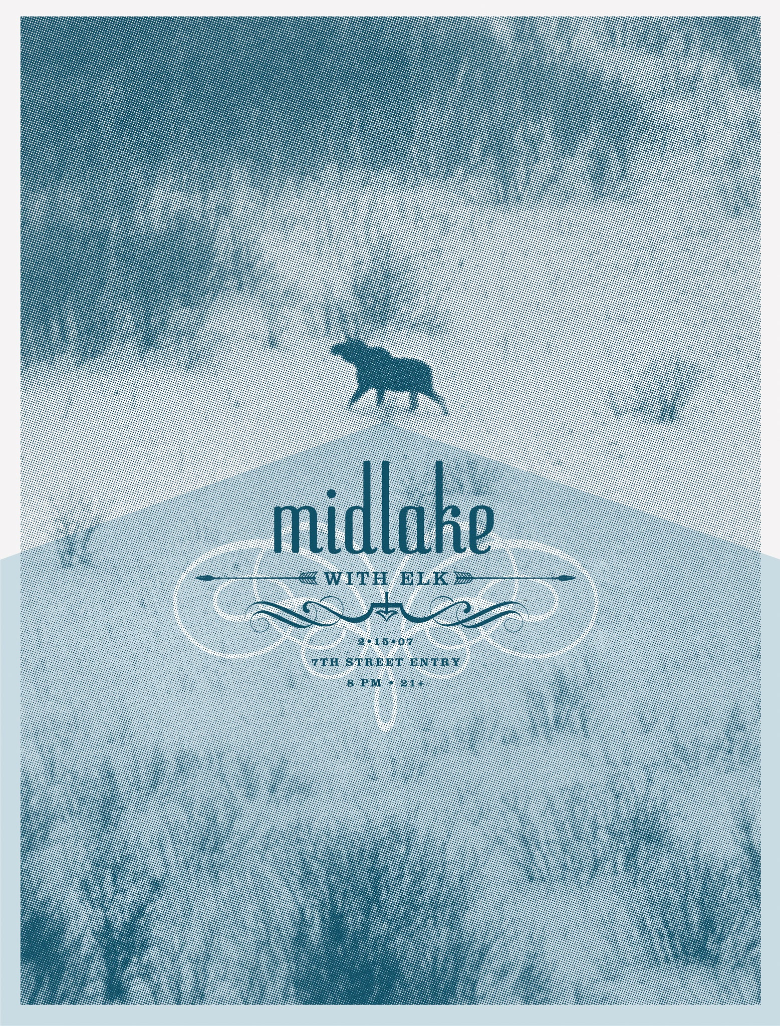 MIDLAKE w/ELK at 7th Street Entry, Minneapolis, MN