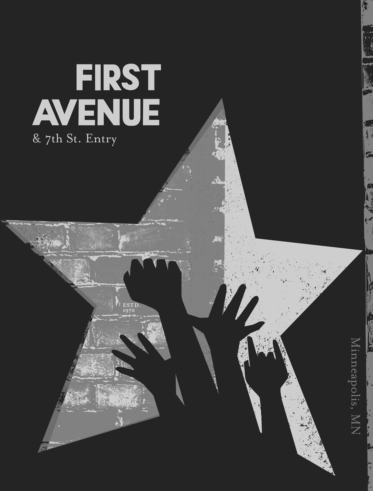 FIRST AVENUE COMMEMORATION, Minneapolis, MN