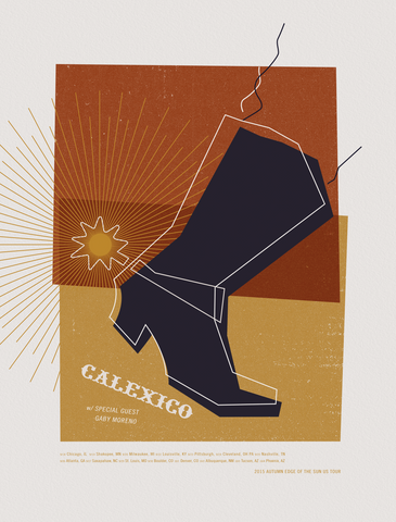 CALEXICO 2015 Autumn Tour