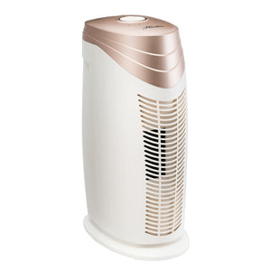 Hunter Bamboo-Charcoal/HEPA Air Purifier with Viro-Silver Technology for medium-sized Rooms HT1702 (rosegold/white)