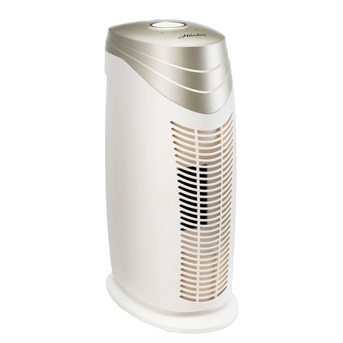 Hunter Bamboo-Charcoal/HEPA Air Purifier with Viro-Silver Technology for medium-sized Rooms HT1702 (champagne/white)