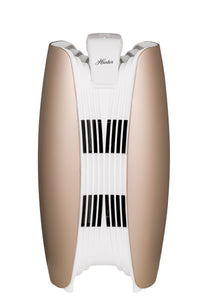 Hunter Bamboo-Charcoal/HEPA Tower Air Purifier with Viro-Silver Technology HT1715 (rosegold/white)