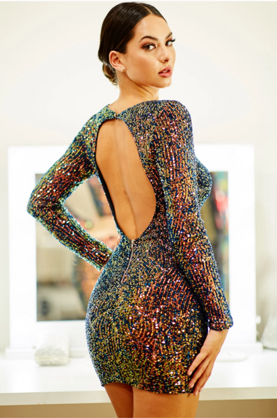 Magic Hour Sequin Dress