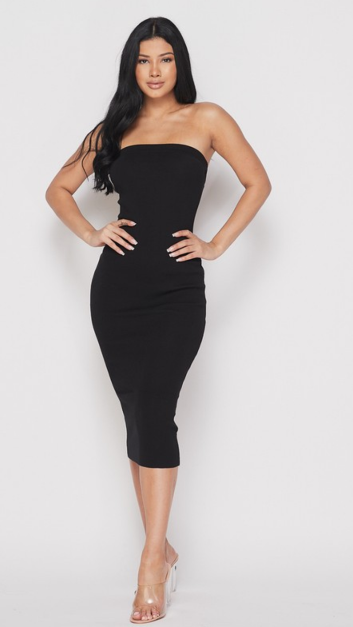 Blair Tube Dress in Black