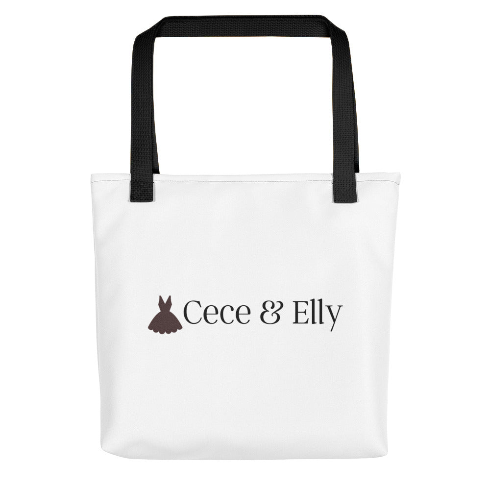 Cece & Elly Tote Bag - with black logo