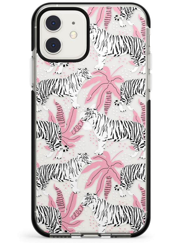 Tigers Within Black Impact Phone Case for iPhone 11