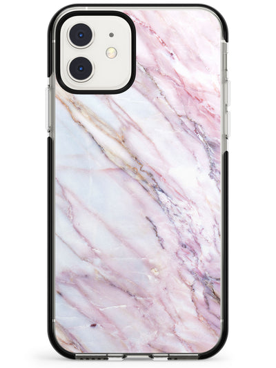 White, Pink & Purple Onyx Marble Texture Pink Fade Impact Phone Case for iPhone 11 Pro Max