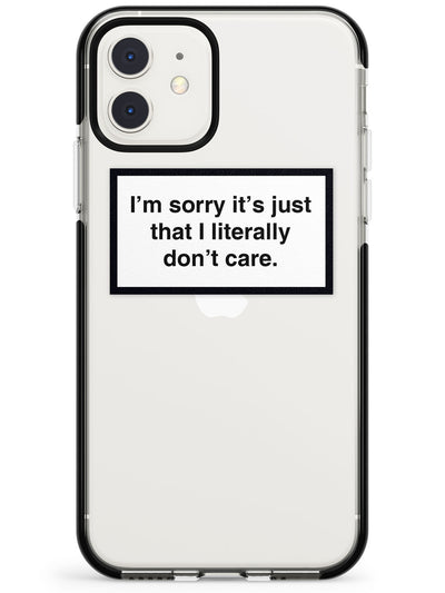 I'm sorry it's just that I literally don't care Pink Fade Impact Phone Case for iPhone 11 Pro Max