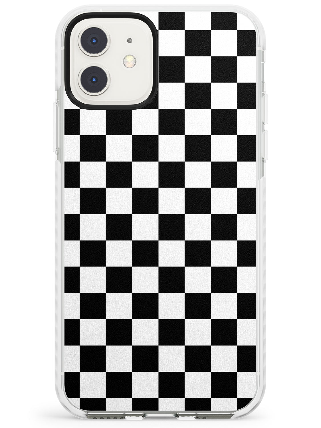 Black Checkered iPhone Case by Case Warehouse ®
