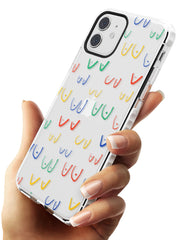 Boob Pattern (Mixed Colours) Impact Phone Case for iPhone 11