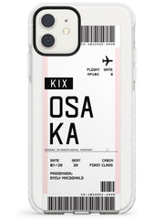 Osaka Boarding Pass iPhone Case by Case Warehouse ®