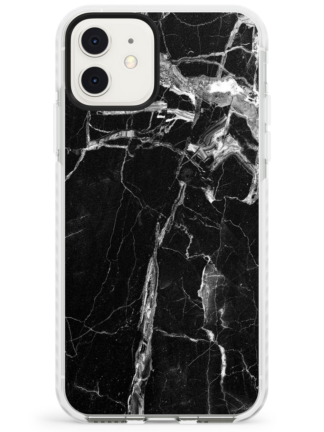 Black Onyx Marble Texture iPhone Case by Case Warehouse ®