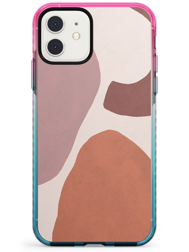 Lush Abstract Watercolour: Design #4 Pink Fade Impact Phone Case for iPhone 11