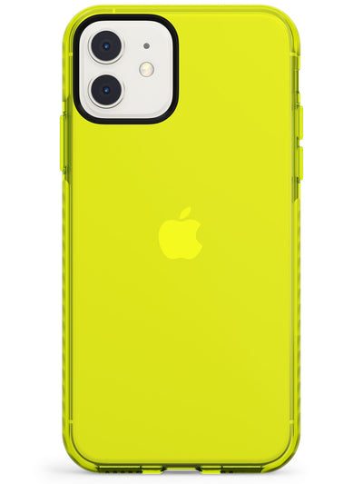 NEON YELLOW NUDE CASE  Neon Impact Custom Phone Case - Case Warehouse