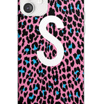 Custom Tuquoise & Pink Leopard Spots iPhone Case by Case Warehouse ®