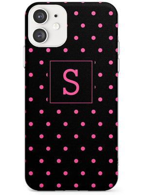 Custom Pink Polka Dots iPhone Case by Case Warehouse ®