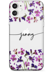 Purple Violets iPhone Case by Case Warehouse ®