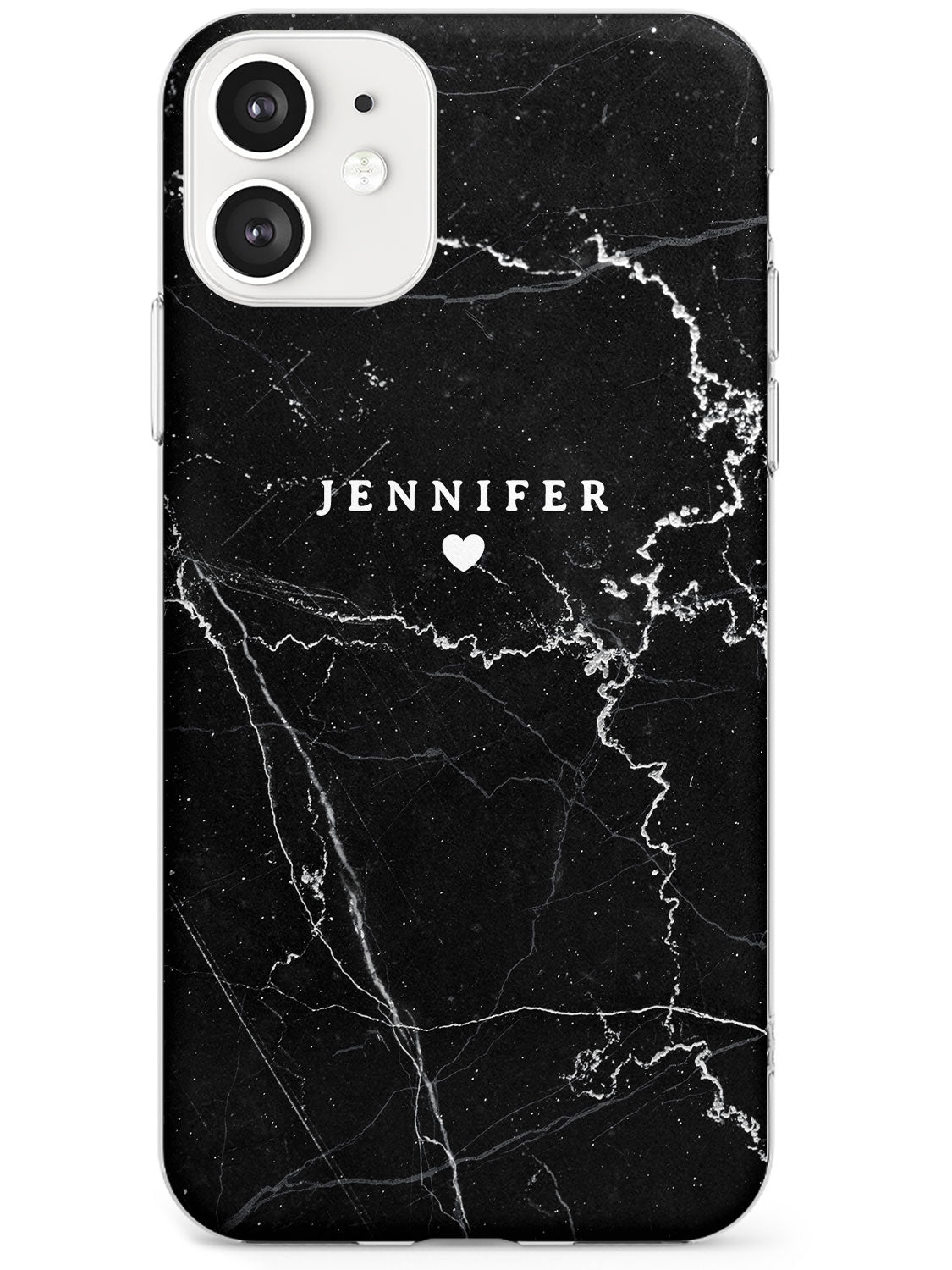 Black Marble 2 iPhone Case by Case Warehouse ®