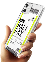 Halifax Boarding Pass iPhone Case   Custom Phone Case - Case Warehouse