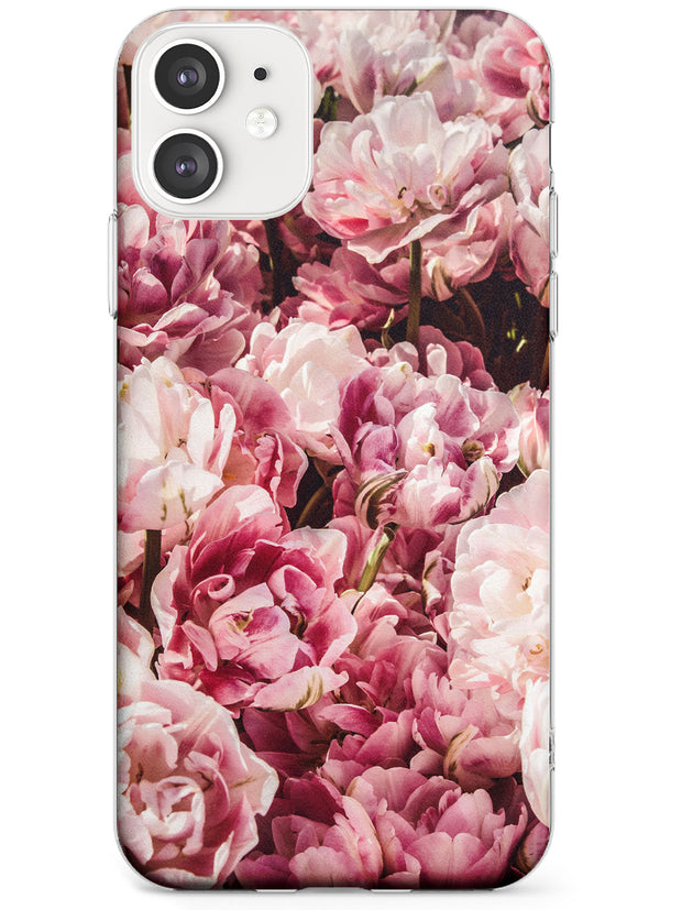 Pink Peonies iPhone Case  Slim Case Phone Case - Case Warehouse