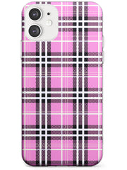 Pink Plaid iPhone Case by Case Warehouse ®