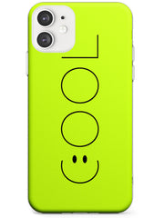 COOL Smiley Face Slim TPU Phone Case for iPhone 11