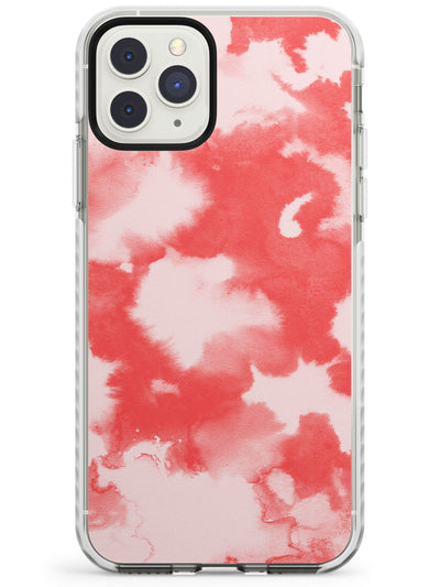 Red & Pink Acid Wash Tie-Dye Pattern Impact Phone Case for iPhone 11 Pro Max