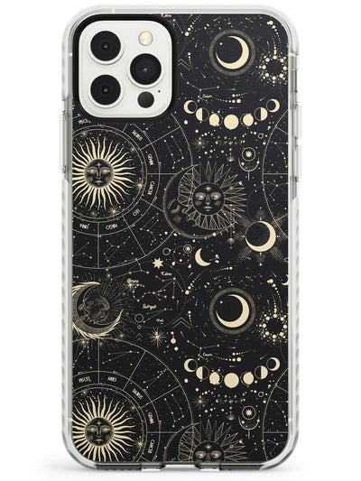 Suns, Moons & Star Signs iPhone Case  Impact Case Phone Case - Case Warehouse