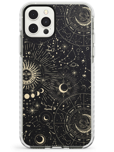 Suns & Zodiac Charts Slim TPU Phone Case for iPhone 11 Pro Max