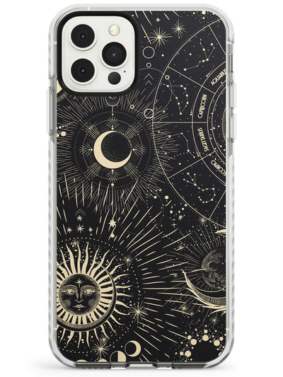Sun & Symbols Astrological Impact Phone Case for iPhone 11 Pro Max
