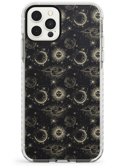 Small Suns, Moons & Clouds Slim TPU Phone Case for iPhone 11 Pro Max