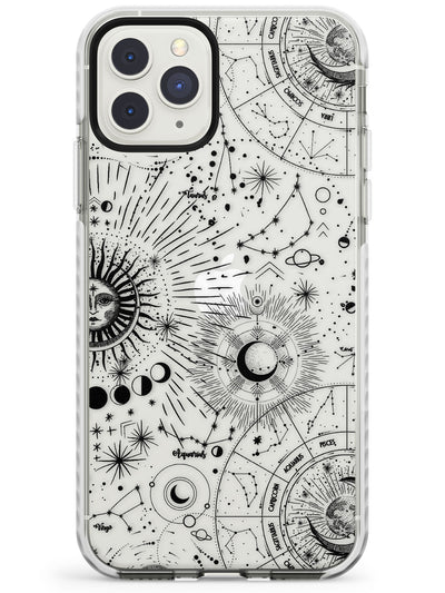 Suns & Constellations Astrological Impact Phone Case for iPhone 11 Pro Max