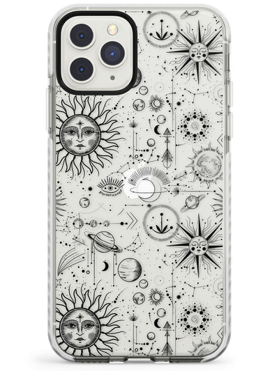 Suns & Planets Astrological Impact Phone Case for iPhone 11 Pro Max