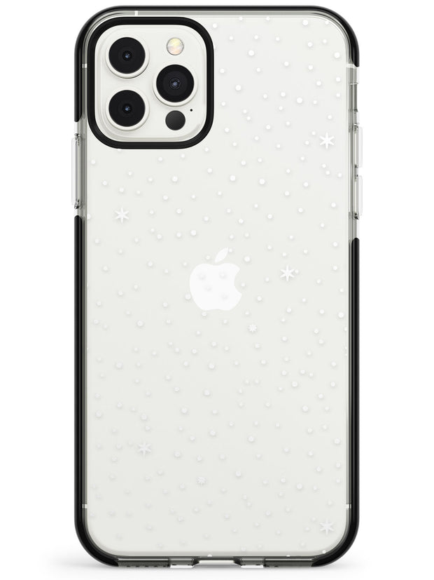 Celestial Starry Sky White Black Impact Phone Case for iPhone 11 Pro Max