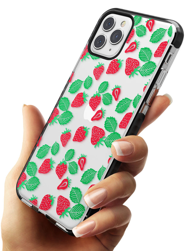 Strawberry Pattern iPhone Case   Phone Case - Case Warehouse