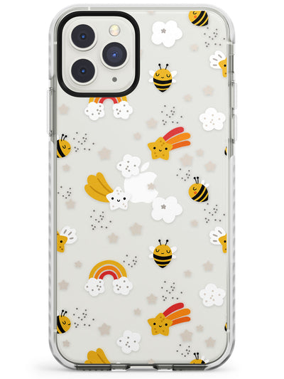 Busy Bee Impact Phone Case for iPhone 11 Pro Max