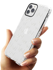 Boob Pattern (White) Impact Phone Case for iPhone 11 Pro Max