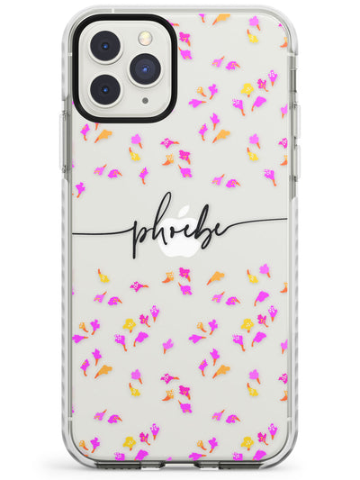 Custom Abstract Floral Design iPhone Case  Impact Case Custom Phone Case - Case Warehouse