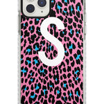 Custom Tuquoise & Pink Leopard Spots iPhone Case
