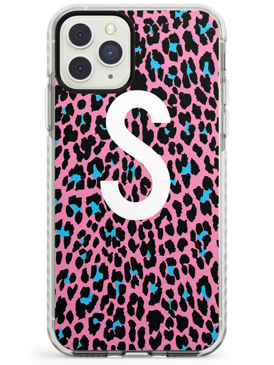 Custom Tuquoise & Pink Leopard Spots iPhone Case  Impact Case Custom Phone Case - Case Warehouse