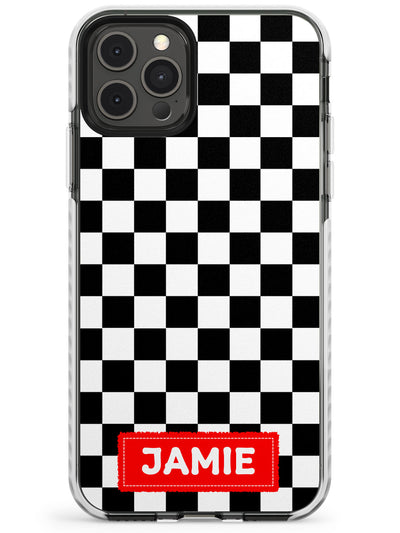 Checkered Skate Slim TPU Phone Case for iPhone 11 Pro Max