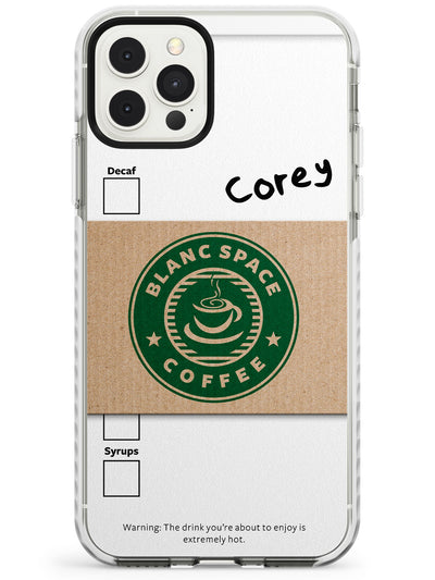 Personalised Coffee Cup Slim TPU Phone Case for iPhone 11 Pro Max