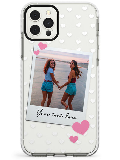 Instant Film & Hearts Impact Phone Case for iPhone 11 Pro Max