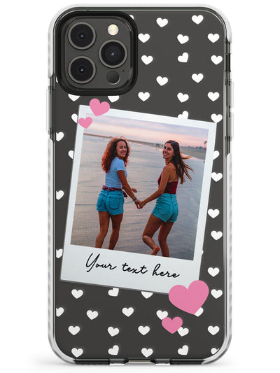 Instant Film & Hearts Slim TPU Phone Case for iPhone 11 Pro Max