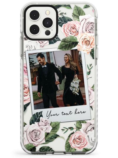 Floral Instant Film Impact Phone Case for iPhone 11 Pro Max